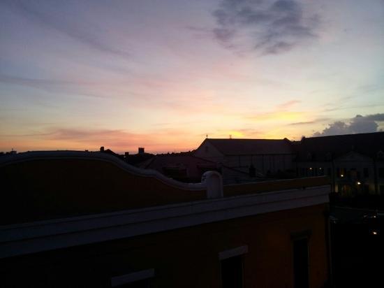 Hotel Villa Convento: Sunrise on the balcony