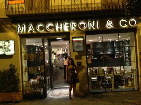 Maccheroni : outsaid
