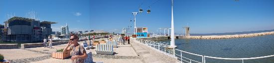 Parque das Nacoes: Expo Lizbona