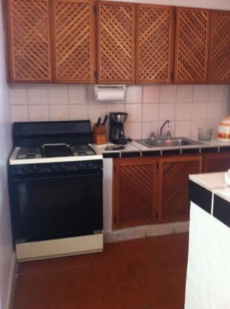 Estrella Del Mar Golf & Beach Resort: old but well equiped kitchen
