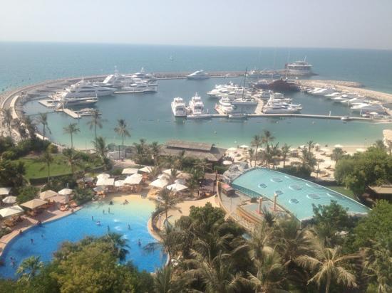 โรงแรมจูไมราห์บีช: view from our room