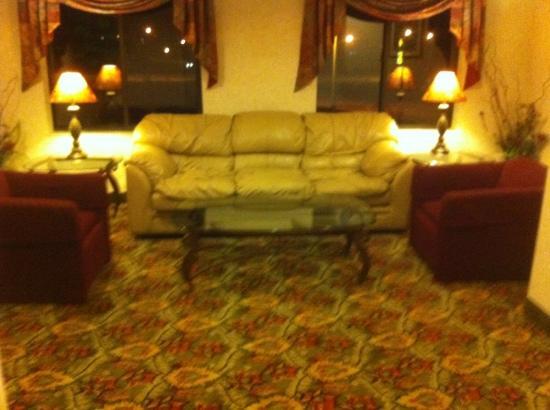 Sleep Inn: 3rd floor sitting area