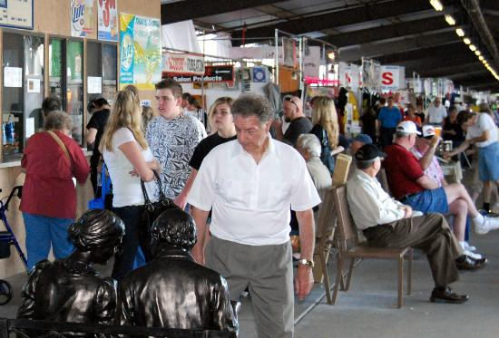 Mesa Market Place Swap Meet: Snack bars, Food Court, and lots to see!