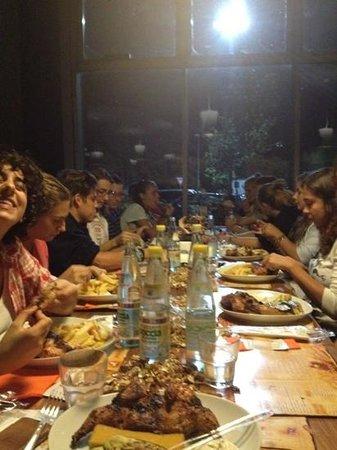 Rooster House : cena di squadra :)