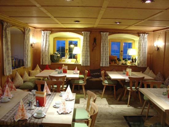 Der Westerhof Hotel: Breakfast room