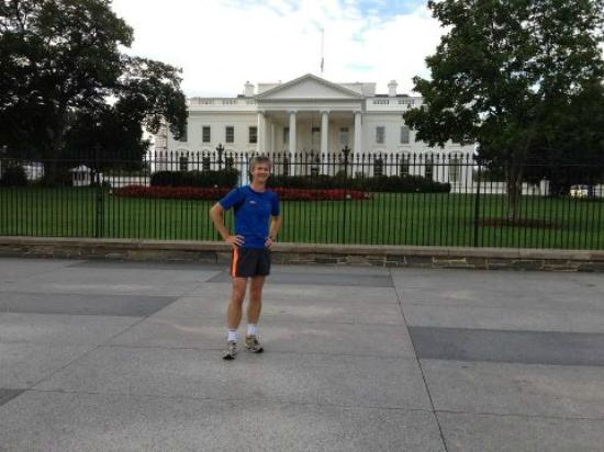 City Running Tours: 7.45 AM, too early for the President to join us