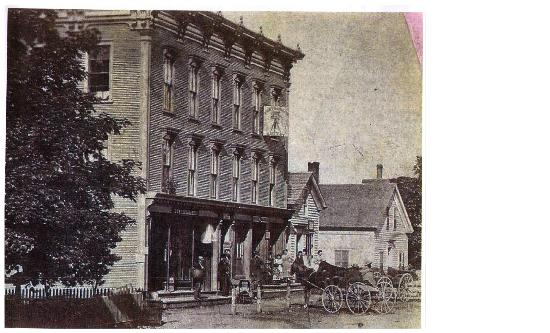 Bristol Suites: Picture of Dunshee Building about 1900