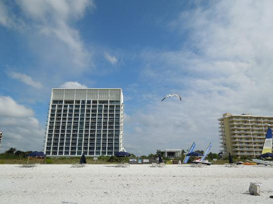 Marriott's Crystal Shores : from the beach
