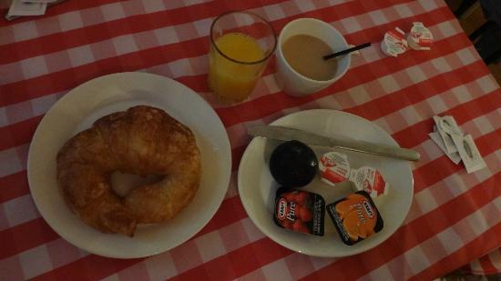 أوتل مانوار دو لا تيراس: Café-da-manhã 