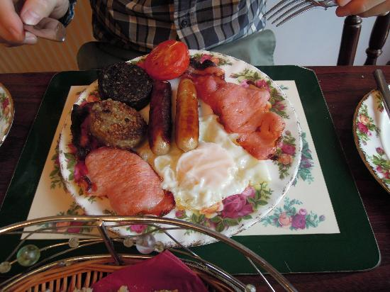 Saint Martha's B&B: Traditional Irish breakfast