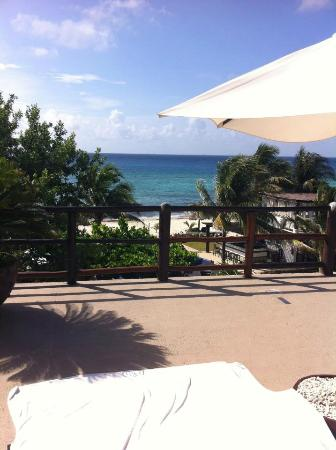 Le Reve Hotel & Spa : Master suite; Huge balcony, great view