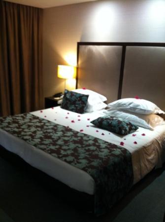 Dom Goncalo Hotel & Spa : boas vindas pacote romântico