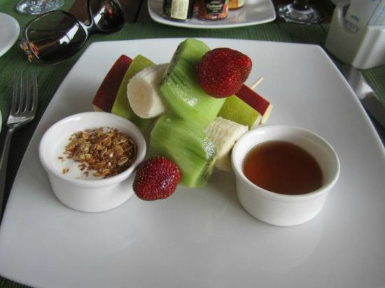 Le Reve Hotel & Spa: A fruit lover's start to the day