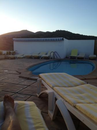 Hotel S'Aguarda : La piscine sur le toit du S'Aguarda