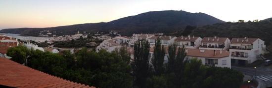 Hotel S'Aguarda : panorama depuis la 415 du S'Aguarda
