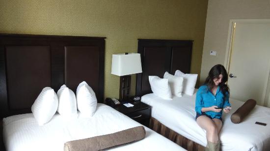 Best Western Plaza Hotel: camas