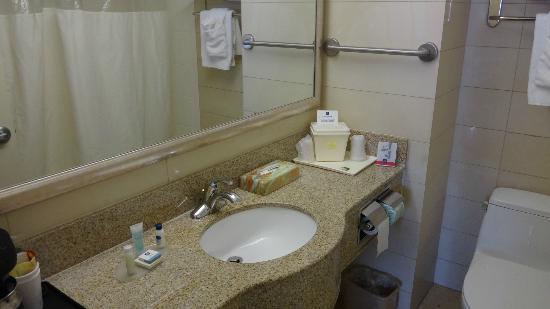 Best Western Plaza Hotel: banheiro