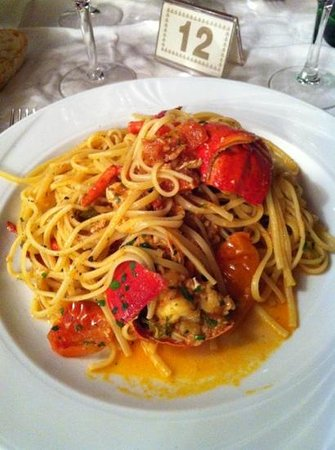 La Tartana : linguine all'astice