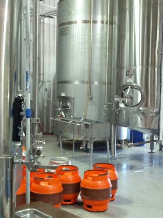 New Holland Brewing Company: Initial grain processing