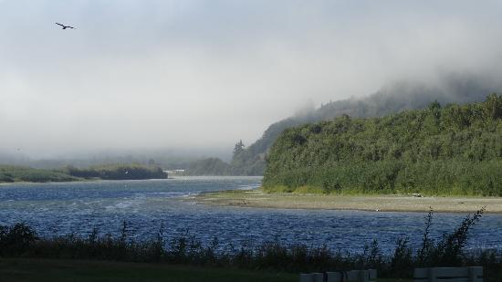 Klamath River RV Park: View from our RV