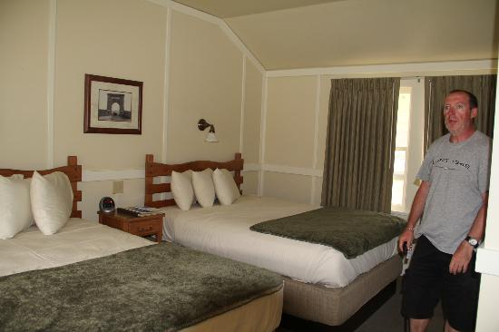 Mammoth Hot Springs Hotel & Cabins: Notre chambre