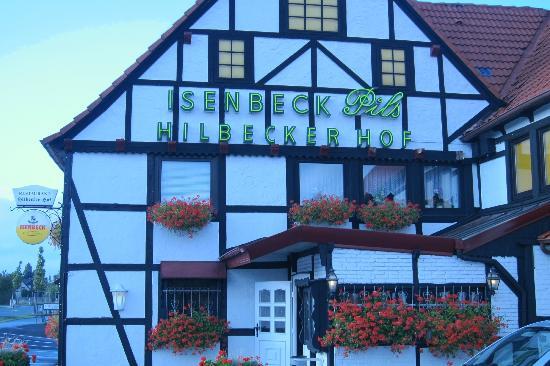 Hilbecker Hof: buitenkant