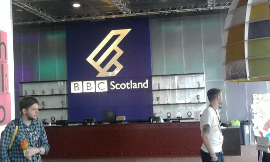 BBC Scotland   Pacific Quay Tours