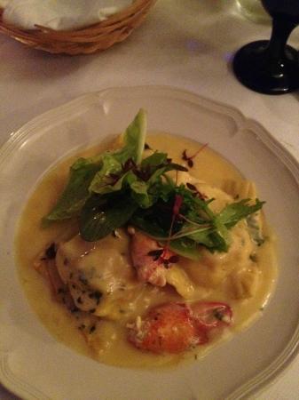 Blue Hill Inn Restaurant: Lobster ravioli...best I have ever had.