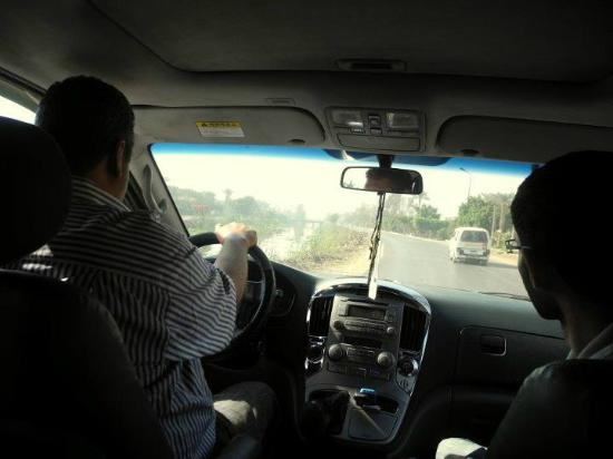 Cairo Private Tours by Khaled : The van Khaled uses is modern, clean, and comfortable. It even has WiFi