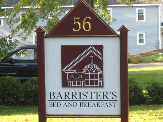 Barrister's Bed & Breakfast : Barristers