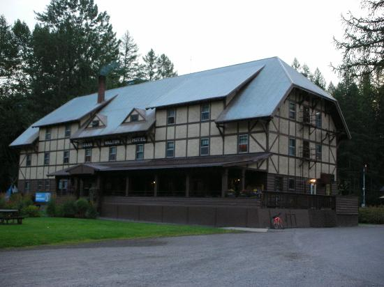 Izaak Walton Inn: The back of the inn