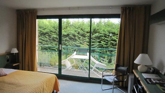 Best Western Golf Hotel Colvert: Très belles fenêtres de la chambre