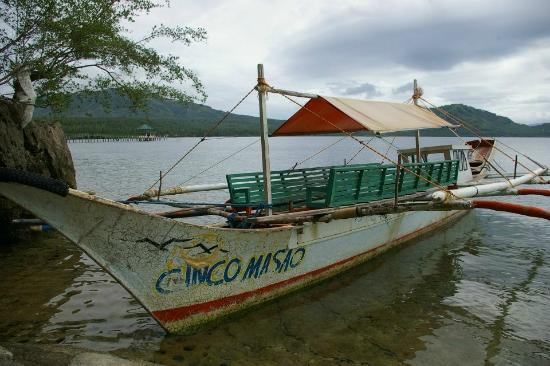 ‪‪Cinco Masao Beach Resort‬: boat