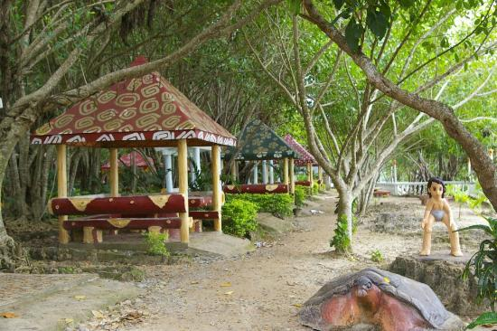 Cinco Masao Beach Resort: picnic areas