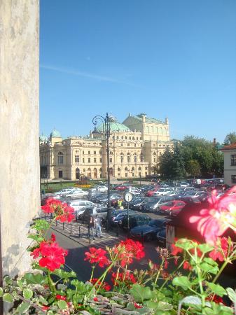 Da janela do Hotel Pollera