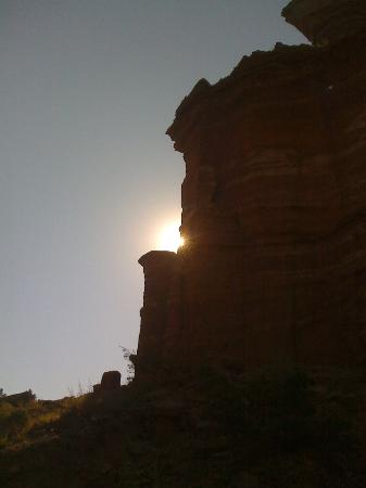 Palo Duro Canyon State Park: Palo Duro Canyon in the morning