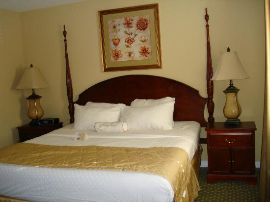 The Historic Powhatan Resort: Master bedroom