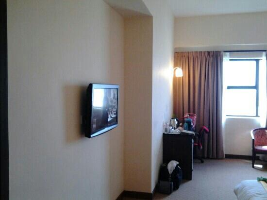 Hotel Tanjong Vista: TV in the Executive Deluxe Romm