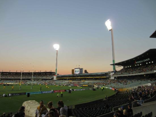 Patersons Stadium: Evening at Patersons