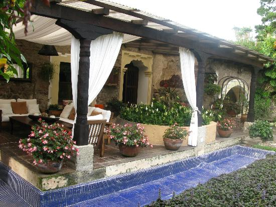Casa Santa Rosa Hotel Boutique: Place to relax and enjoy the gardens