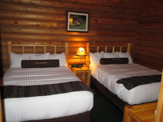 Togwotee Mountain Lodge: comfy beds!