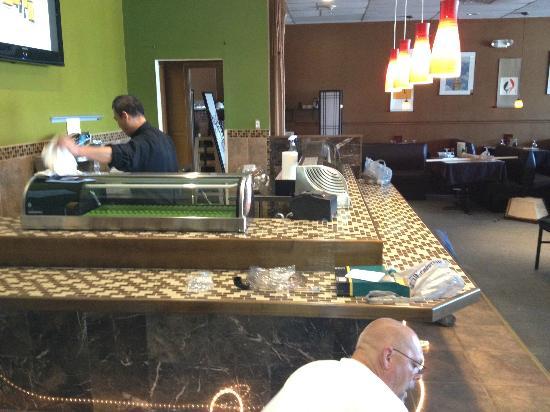 @Bangkok Thai & Sushi: The New Sushi Bar