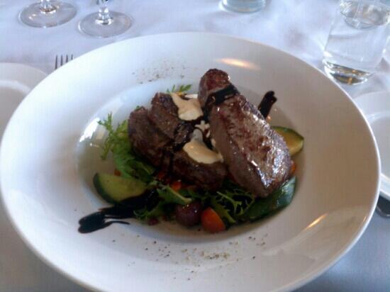 Lakeland House Restaurant: lunch venison