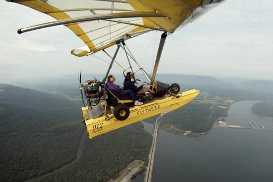 Flying Adventures : Flying over Nickajack dam
