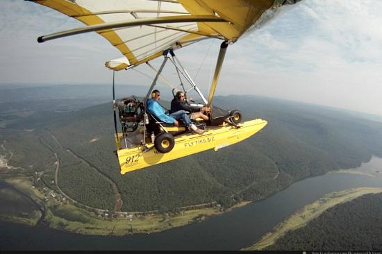 Flying Adventures: Flying over Tennessee River