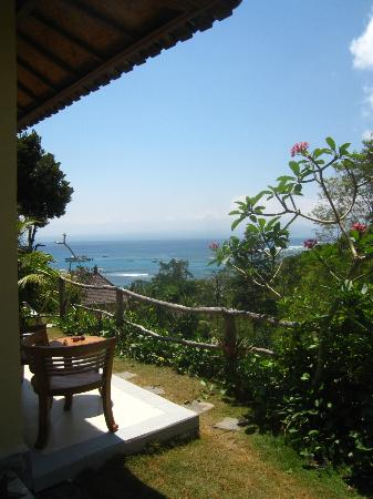Lembongan Cliff Villas: The view from our room