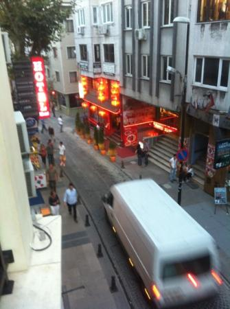 Hotel Perula: balcony view