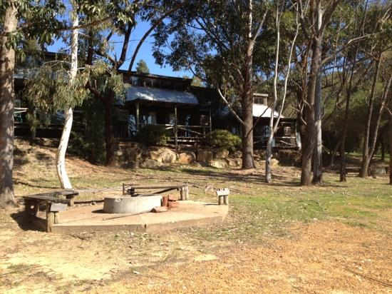 Evedon Park Bush Resort: cabin fire