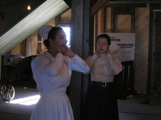 Grosse Ile: Actresses playing real historic nurse Beaudry and immigrant Miss Brown