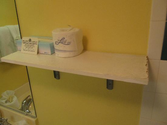 El Caribe Resort and Conference Center: Bathroom Shelf